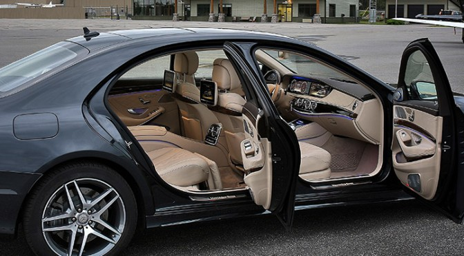 Chauffeur Mercedes Classe S