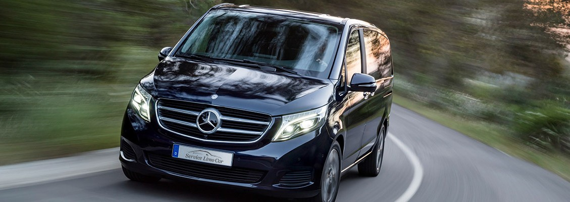Private Driver Mercedes V Class