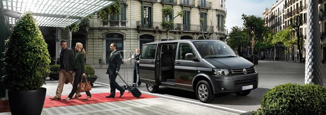 Chauffeur luxe volkswagen caravelle