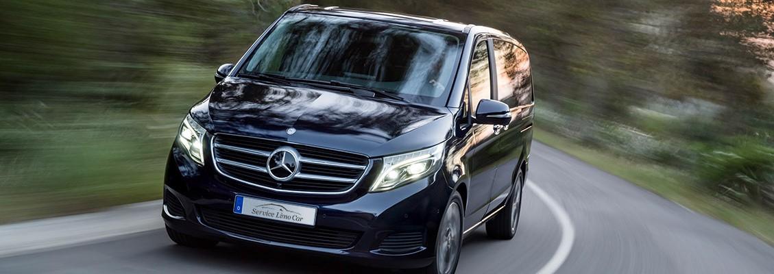 Private Driver Mercedes V Class