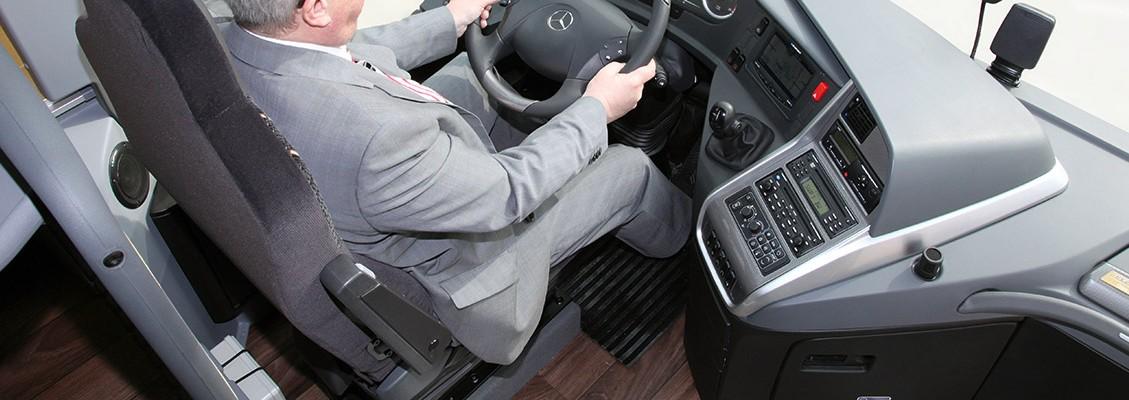 Private Chauffeur Mercedes Travego